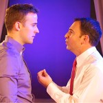 Chris Davis and Anthony J. Wilkinson in MY BIG GAY ITALIAN MIDLIFE CRISIS (Photo credit: Rick Stockwell)