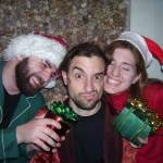 Sean Vermeire, Geremy Webne-Behrman, and Loretta Vasile in Mechanical's A CHRISTMAS CAROL (Photo credit: Eric Singel)