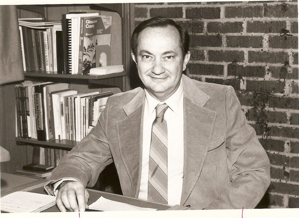 Walt Vail, Glassboro administrator, 1960s