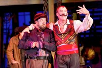 Aaron Cromie and Ian Merrill Peakes in Walnut Street Theatre's PETER AND THE STARCATCHER (Photo credit: Mark Garvin).