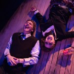 Hannah Parke  (Claryssa) and  Nicholas Scheppard (Sebastian). Photo by AustinArt.Org.