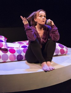 Jennifer Childs plays a teenager