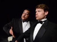 Joel Guerrero (left) and Jeff Hunsicker in MY FAVORITE HUSBANDS (Photo by John Donges).