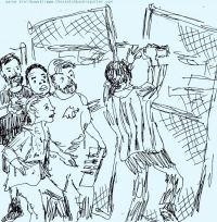 Fringe in Sketch: ANIMAL FARM TO TABLE