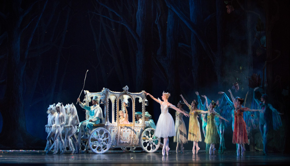 Artists of Pennsylvania Ballet in Ben Stevenson's Cinderella. Photo Credit: Alexander Iziliaev.