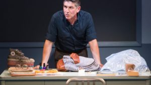 James Lecesne in THE ABSOLUTE BRIGHTNESS OF LEONARD PELKEY. Photo by Matthew Murphy.