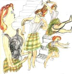 Dance in Sketch: Anne-Marie and Dancers Company