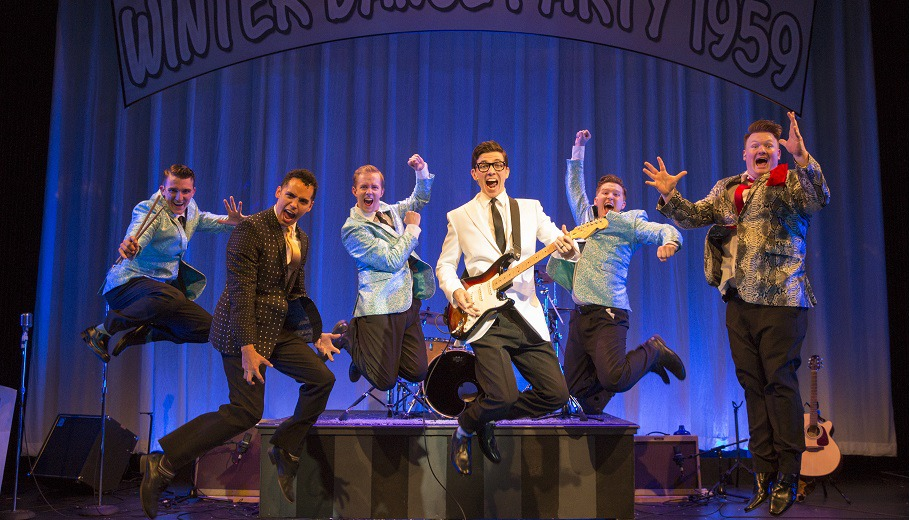 BUDDY: The Buddy Holly Story June 24 – July 16 Book by Alan Janes Music and Lyrics by Buddy Holly Directed by Hunter Foster Choreographed by Lorin Latarro