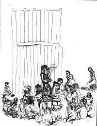 Theater in Sketch: CORIOLANUS (Shakespeare in Clark Park)