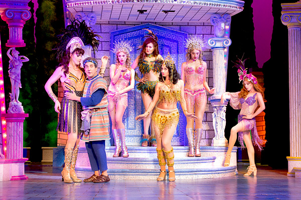 A FUNNY THING HAPPENED ON THE WAY TO THE FORUM-Walnut Street Theatre-review