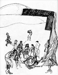 Dance in Sketch: FAITH PROJECT THE DOOR (Kun-Yang Lin/Dancers)