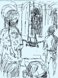 Fringe in Sketch: IN THE FOREST (Tangle Movement Arts)