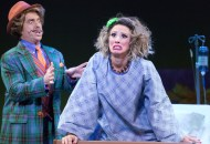 Christopher Sutton and Lyn Philistine in MATILDA THE MUSICAL. Photo by
