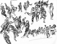 Dance in Sketch: Kun-Yang Lin/Dancers