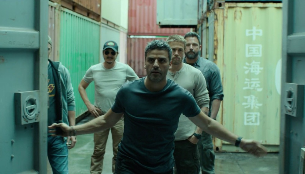 Triple Frontier film review image