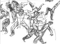 Dance in Sketch: Kun-Yang Lin and Dancers Open Studio Series
