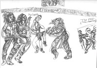 Theater in Sketch: JOHNNY DEPP: A RETROSPECTIVE ON LATE-STAGE CAPITALISM (Val Dunn & Jenna Kuerzi)