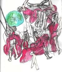 Circus in Sketch: XOXO MOONGIRL (Almanac)