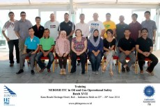Training NEBOSH ITC BATCH XVII
