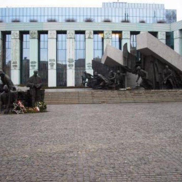 WWII Memorial, Warsaw