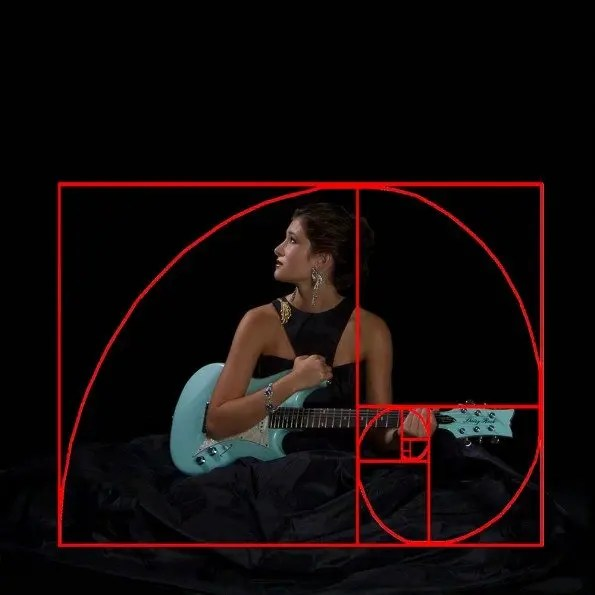 The Golden Spiral - notice me, and my guitar