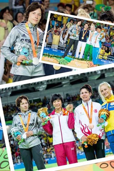2 x Olympisches SILBER für Deutschland