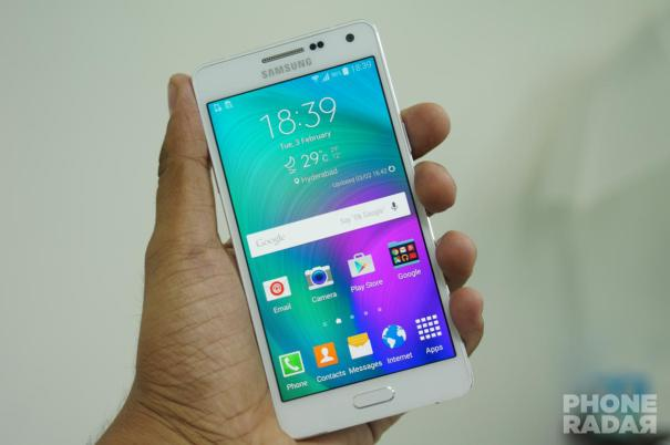 Samsung Galaxy A5 Hands-on