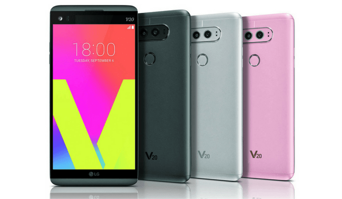 LG V20 Announced: Specs, Features, Price and Availability All Detailed Here