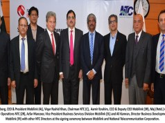NTC Signs Agreement with Mobilink for Provision of GSM/3G/ICT Services to NTC Customers