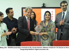 Mobilink Digital Innovation Lab inaugurated by Minister of State for IT and Telecom