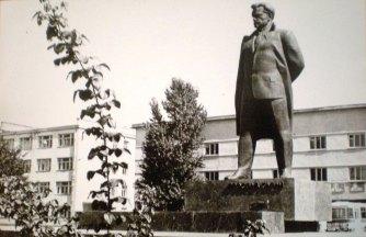 Відкриття пам'ятника Ярославу Галану у Львові 1972 року