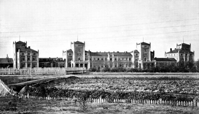 Львівський вокзал, фото, друга половина XIX століття