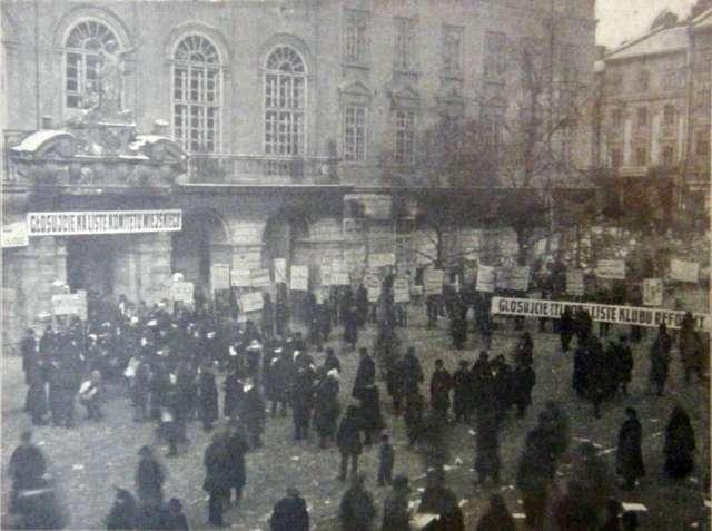 Головний вхід до ратуші. Фото 1907 року