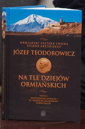 Вірменський Пастир Львова архієпископ Йосиф Теодорович на тлі вірменської історії.