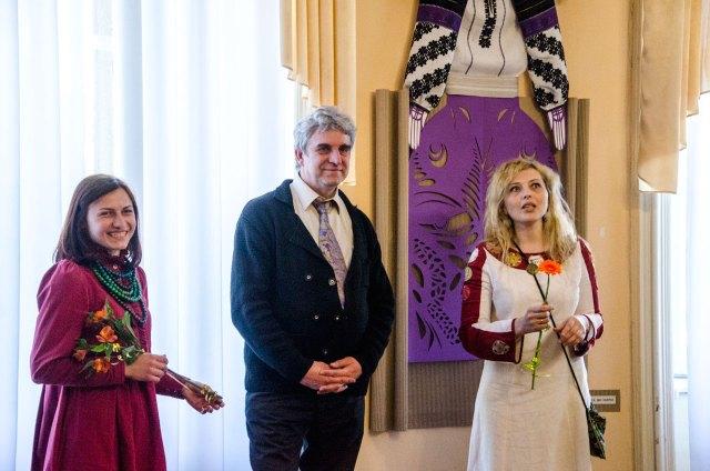 Відкриття виставки «Ткане, витнуте і вбране», фото Наталя Бойченко