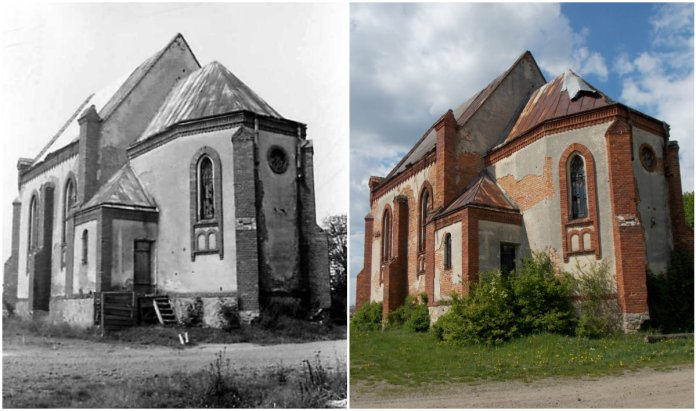 Занедбана краса Петропавлівського парафіяльного костелу села Поляни