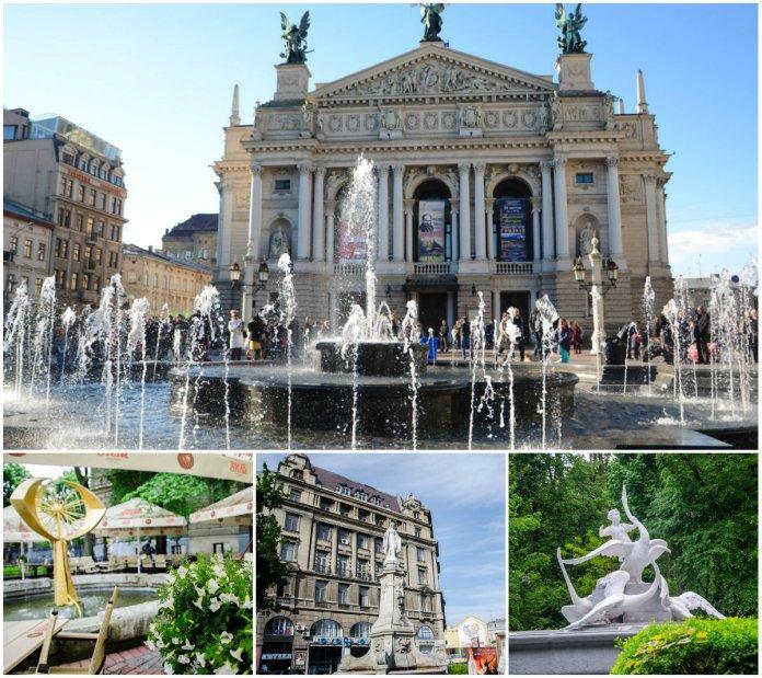 Десять найвідоміших фонтанів Львова