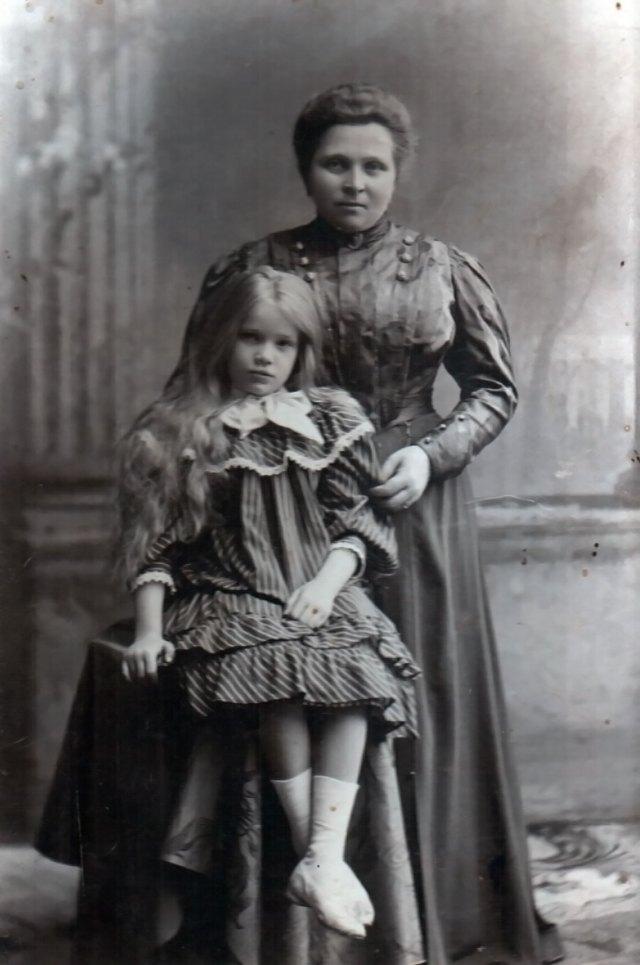 Марія та Катерина Грушевські. Львів, 1905 рік