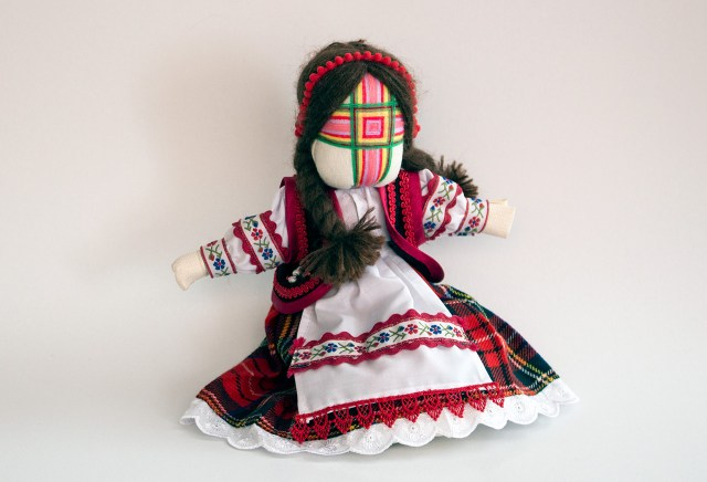 Авторська лялька майстрині Оксани Маруняк