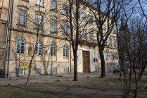 Вулиця Чарнецького, 24-26 (тепер Винниченка), будинки Наукового Товариства ім.Шевченка, яке з 1897 по 1913 очолював М. Грушевський