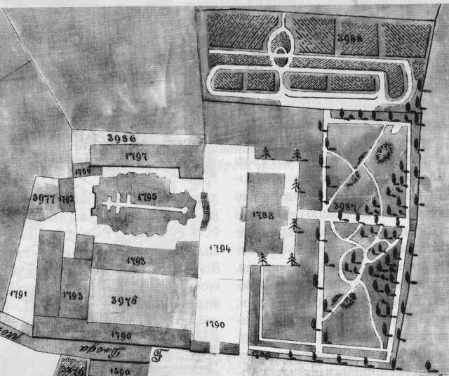 План реорганізації митрополичих садів. 1857 рік