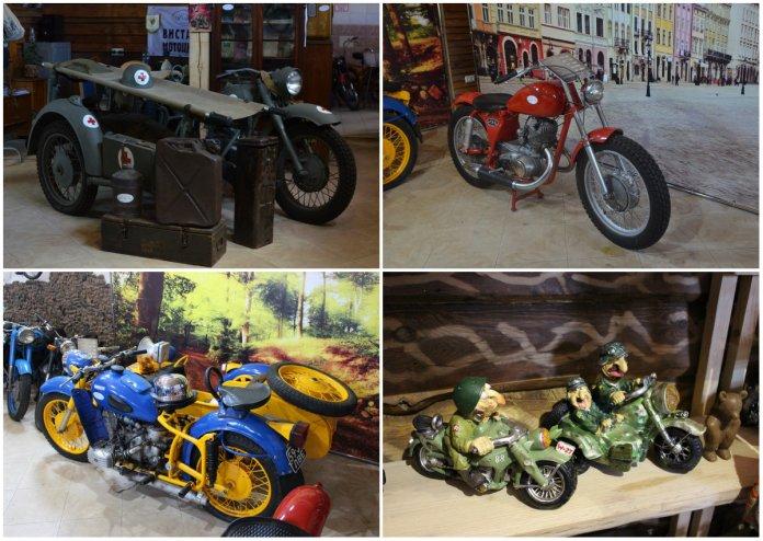 Виставка мотоциклів.