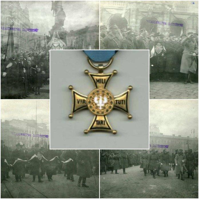 Унікальні фото нагородження Львова орденом Virtuti Militari - найвищою відзнакою Польщі