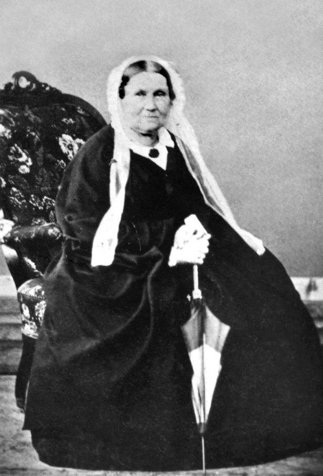 Дружина Маркіяна - Юлія Крушинська - у похилому віці