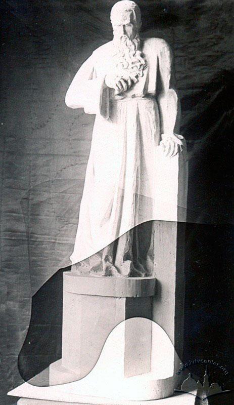 Пам'ятник Андрею Шептицькому авторства Андрія Коверка на території Богословської академії