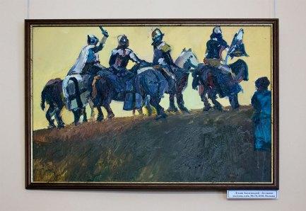 """Лукаш Задлєвський """"Без назви"""", олія, 50х70, 2010, Польща"""