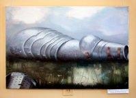 """Люцина Леткі-Вавжиняк """"Chityna Humana"""", полотно, олія, 70х100, 2012, Польща"""