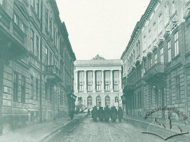 Навчальний корпус «Львівської політехніки», У 1914/15 навчальний рік.