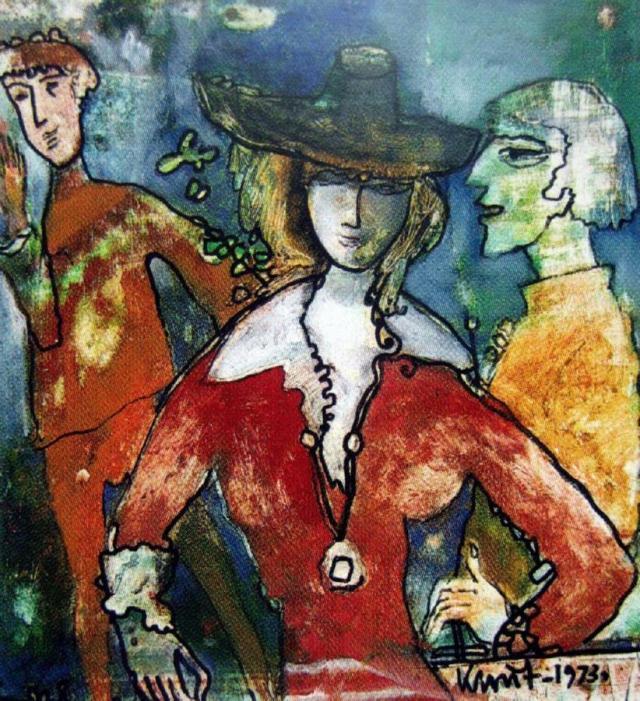 М. Квіт «Розмова». Фото з сайту www.artrecord.com