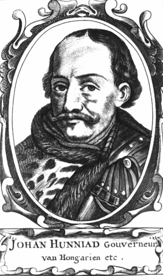 Угорський палатин та воєвода Трансильванії Януш Гуньяді